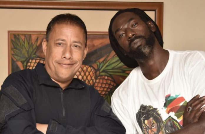 Buju Banton Meets With Trinidad and Tobago's Commissioner of Police After Hotel Raid