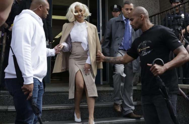 Cardi B Arrested And Charged For Club Fight