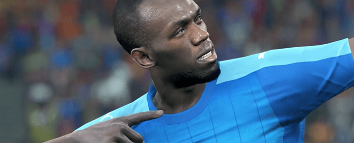 Usain Bolt Gets Feature In PES 2018 As Bonus