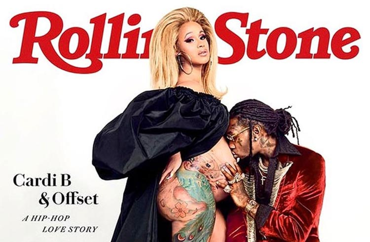 Cardi Offset Rolling Stone Cover