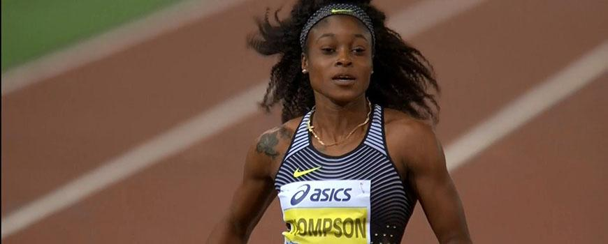 Thompson Wins 100m Diamond League